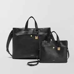 An elegant way to organize and transport all your essentials, this commuter-friendly bag can be worn over the shoulder or held by the handles. With thoughtfully sewn interior and exterior pockets, you'll have a place for all your workday and weekend essentials. With arched detailing, inspired by the path the moon travels on its journey across the night sky, the Mini Klire and Klire are versatile additions to any collection.