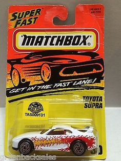 (TAS009131) - Matchbox Cars - Toyota Supra