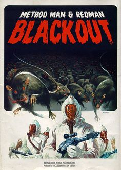 Blackout / Method Man & Redman MusiXploitation by Ads Libitum : shop / faceb.