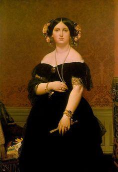 //가넷// 무아테시에 부인 - ean Auguste Dominique (1780-1867) Google 검색