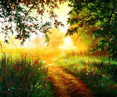 """Path - """"In order to choose the right path, we do not have to figure out the wrong one ~ we just need to follow the light.""""."""