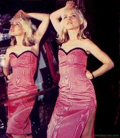 See Deborah Harry pictures, photo shoots, and listen online to the latest music. Blondie Debbie Harry, Harry Rocks, Chris Stein, Cindy Sherman, Strapless Dress, Bodycon Dress, The Clash, Blondies, Musical