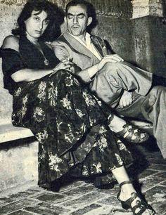 Anna Magnani y Luchino Visconti, Venecia, 1953