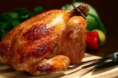 Roast Chicken   	1 - Whole Chicken, cut up   	3 - tbsp. Wildtree Garlic Grapeseed Oil   	2 - tsp. Wildtree Hearty Spaghetti Seasoning   	2 - tsp. Wildtree Ranchers Steak Rub    Mix all ingredients in a freezer bag and mix together. Remove air and freeze. Defrost bag in fridge. Place in a baking dish or on parchment paper over a cooking sheet. Cook at 350 degrees for about 25 to 30 minutes.