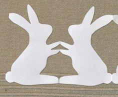 Húsvét - Húsvéti nyuszifüzer Hexagon Quilt, Hare, Easter Crafts, Paper Dolls, Techno, Rabbit, Bunny, Quilts, Rabbits