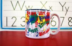 Vintage Happy Birthday Coffee Mug