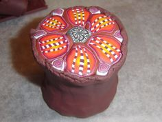 Just Me And My Creations: Polymer Clay - Pic Tutorial, lots of them, actually.  Go down a ways to find the English!