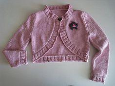 Ravelry: Pippa / Girls' Shrug pattern by Martin Storey