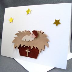 1000 images about religious cards on pinterest stamping for Easy christmas crafts for kids religious