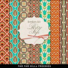 New Freebies Kit of Backgrounds - Purple Wedding | Far Far Hill | Bloglovin'