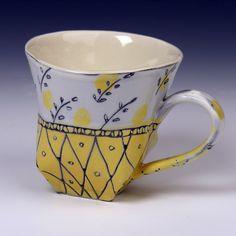 Wallpaper Tea Cup. $45.00, via Etsy.