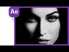 After Effects Tutorial: halftone effect Adobe After Effects Tutorials, Effects Photoshop, Video Effects, Game Effect, Blur Effect, Vfx Tutorial, Animation Tutorial, Camera Lens, Leica Camera