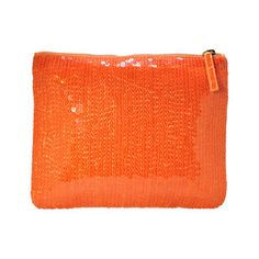 Sequin Clutch Sunset Orange, $35, now featured on Fab.