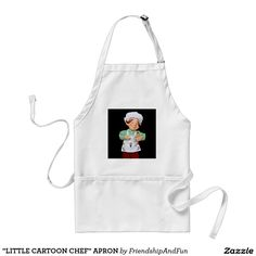 """LITTLE CARTOON CHEF"" APRON"