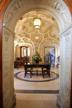 Bussaco Palace Hotel – Luso – Coimbra - Portugal – 5-Stars Hotel Portugal, Visit Portugal, Portugal Travel, Great Places, Places To Visit, Amazing Places, Windsor Castle, Palace Hotel, Ancient Architecture