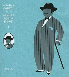 Christopher Brown : Cover art for Hercule Poirot Stories Volume 1 written by Agatha Christie