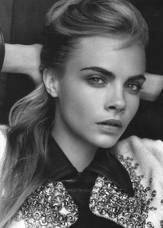 Love her and her eyebrows Cara Delevingne