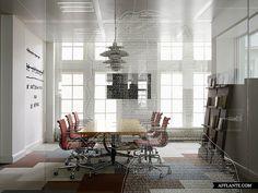 Kleurrijke creatieve uitspattingen op hoofdkantoor JWT Amsterdam - Roomed