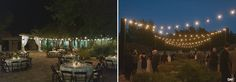 Display garden cocktail party lighting   October Wedding   Lady Bird Johnson Wildflower Center   Pearl Events   Day 7 Photography