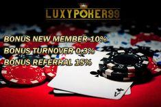 Luxypoker99 adalah agen capsa susun online dengan minimal deposit 10rb yang dapat menguntungkan bagi anda para pemain yang ingin modal 10rb saja.