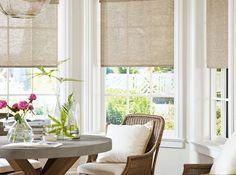 La solución perfecta para tus ventanas. Con estos estores tienes la comodidad de los sistemas modernos y el ambiente agradable de los tejidos realizados con fibras naturales. #Homedecor