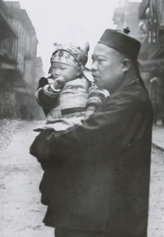 A Proud Chinese American Father - Arnold Genthe