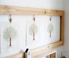 Love this frame idea