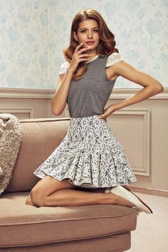 spódnica Virgo Manifiq_Co Spódnice plisowane | Moda