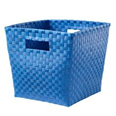Blue Cube Bin--sturdier than canvas bins for cube storage for toys? Playroom Storage, Kids Storage, Cube Storage, Toy Storage, Playroom Ideas, Getting Ready To Move, Light Grey Walls, Kids Canvas, Baby Store