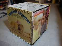 Make old LP Record covers into a box