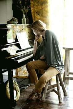 The notes were right there on the page, begging to be played, but it had been so long .girl at the piano, beautiful photography! The Piano, Piano Girl, Piano Man, Piano Photography, White Photography, Musician Photography, Woman Photography, I Love Music, My Music