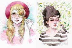 As Ilustrações de Juliana Rabelo | Que se Ame