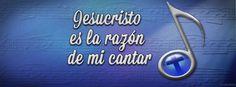 """Jesucristo es la razón de mi cantar! """"Por tanto, a ti cantaré, gloria mía, y no estaré callado"""" - Salmos 30:12a (Reina-Valera 1960). Portadas para Facebook - Facebook covers"""