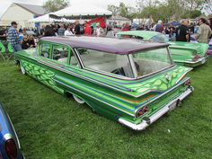 Fancy Cars, Cute Cars, Chevy Classic, Classic Cars, Old Fashioned Cars, Custom Paint Jobs, Sweet Cars, Expensive Cars, Car Painting