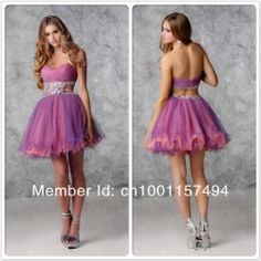 Free Shipping High Quality Sexy Ruched Tulle Sparkling Beading Mini Prom Dresses 2013 New Arrival CH2029 US $129.00