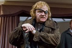 """Alastor """"Mad-Eye"""" Moody (Brendan Gleeson) - Though it was a cover persona, Moody became Hogwarts' defence against the dark arts professor after a distinguished career as an auror (a wizard who battles evil). That particular Moody was later found to be an impostor. The real Moody returned to continue to fight evil as a member of the Order of the Phoenix, also earning repute as being the greatest auror ever. He met his end in an ambush/duel with Lord Voldemort while protecting Harry Potter."""