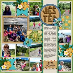 Digital layout using Believe In Magic - Adventure Time by Amber Shaw and Studio Flergs at Sweet Shoppe Designs and template Single 39 (Lots of Snapshots) by Cindy Schneider at Sweet Shoppe Designs