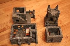 Wizard-Tower-37cm-High-for-Gaming-Boards-Dwarven-Forge-Hirst-Arts-D-D