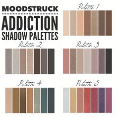 All 5 Younique Addiction Palettes! com Eye Makeup, Glow Makeup, Foundation, Younique Presenter, How To Feel Beautiful, Gorgeous Eyes, How To Apply, Make Up, Addiction Palette Younique