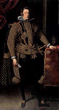 Felipe IV de España. Juan van der Hamen y León.