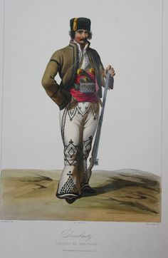 Regiunea targoviste-Dorobant Eastern Europe, Fashion History, Folklore, Romania, Alice In Wonderland, 19th Century, Military, Superhero, Warriors