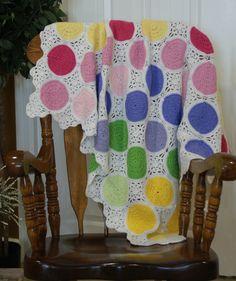 Sweet Spots Crochet Blanket Pattern van WyncliffeChimes op Etsy