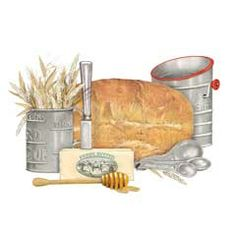 Bread Illustration | Mary Lake Thompson