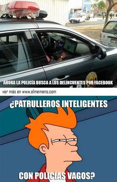 Los policias en Perú siempre están a la vanguardia