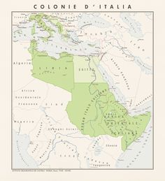 Map showing the extent of the Italian colonial empire after the Axis is successful in World War Italian Empire after Axis victory in - part 1 Italian Empire, Italian Army, World Empire, Imaginary Maps, Italy Map, Fantasy Map, Alternate History, Fantasy Setting, Modern History