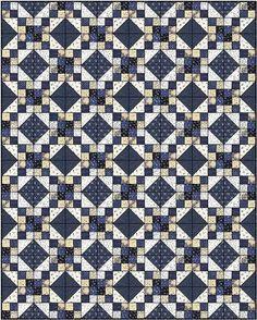 Indigo Blue quilt pattern -- http://www.maryquilts.com/indigo-blue/