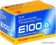 Kodak Ektachrome E100G