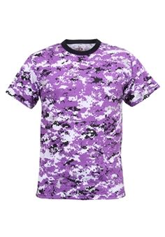 Ultra Force Digital Ultra Violet Camo T-Shirt | Buy Now at camouflage.ca