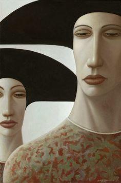 George Underwood, Contemporary Artist (UK) ~ Blog of an Art Admirer