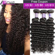 최고 브라질 처녀 머리 깊은 웨이브 3 번들 8A 브라질 곱슬 머리 곱슬 직조 인간의 머리 확장 깊은 곱슬 머리 번들